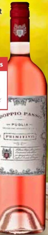 Rosato Primitivo Puglia von Doppio Passo