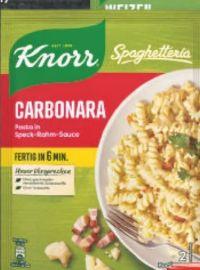 Fertiggericht von Knorr
