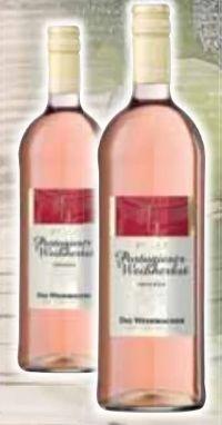 Portugieser Weißherbst von Die Weinmacher Niederkirchen