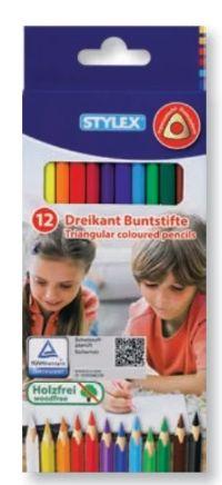 Dreikant-Buntstifte von Stylex