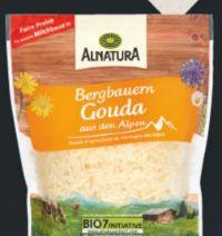 Bio-Gouda gerieben von Alnatura