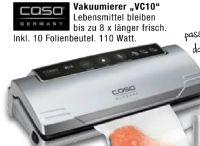 Vakuumierer VC10 von caso