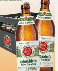 Helles Landbier von Schneiders