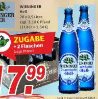 Lagerbier Hell von Wieninger