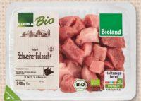 Bio-Schweinegulasch von Edeka Bio