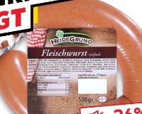Fleischwurst von HeideGrund