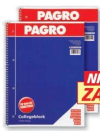 Collegeblock von Pagro