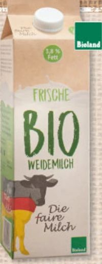 Bio Weidemilch von Die faire Milch