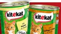 Katzennahrung von Kitekat
