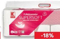 Toilettenpapier Supersoft von K-Classic