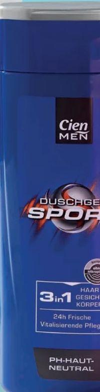 Men Duschgel & Shampoo von Cien