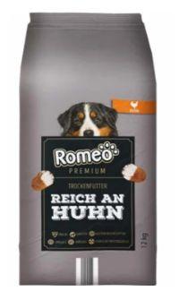 Premium Hundetrockenfutter von Romeo