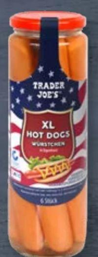 XL Hot Dogs Würstchen von Trader Joe's