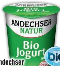 Bio-Jogurt von Andechser Natur