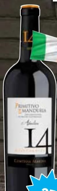 14 Primitivo di Manduria von Weingut Contessa Marina