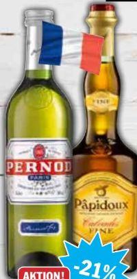 Anisspirituose von Pernod
