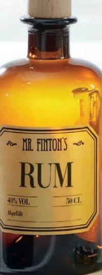 Rum von Mr. Finton's