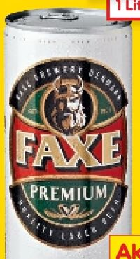 Premium Bier von Faxe