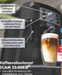 Kaffeevollautomat ECAM 22.105.B von DeLonghi