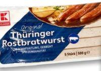 Thüringer Rostbratwurst von K-Classic