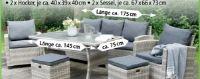 Dining-Lounge-Set Monza von Bellavista