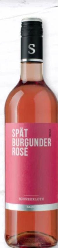 Spät Burgunder Rosé von Schneekloth