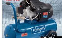 Doppelzylinder Kompressor HC53dc von Scheppach