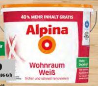 Wohnraumweiss von Alpina