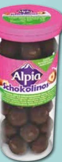 Schokolinos von Alpia