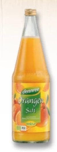 Bio Orangensaft von Dennree