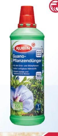 Guano-Pflanzendünger von Rubin