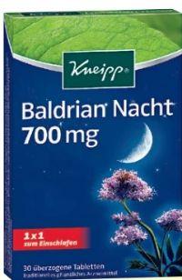 Baldrian Nacht Tabletten von Kneipp