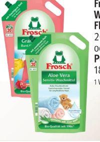 Flüssig-Waschmittel von Frosch