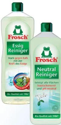 Essig Reiniger von Frosch