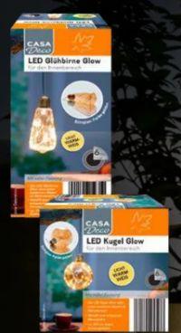 LED-Kugel/-Glühbirne von Casa Deco