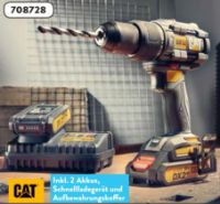 18 V Akku-Schlagbohrschrauber-Set von CAT