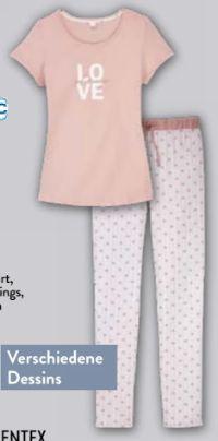 Damen Pyjama von Queentex