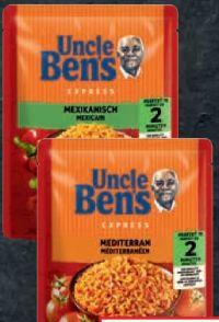 Express Reis Reisgerichte von Uncle Ben's