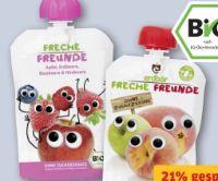 Bio Frucht-Quetschen von Erdbär Freche Freunde