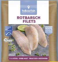 Rotbarsch Filets von Followfish