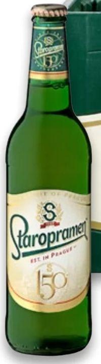 Prager Premium-Bier von Staropramen