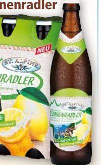 Österreichisches Zitronenradler von St. Alpine