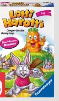 Mitbringspiel Lotti Karotti Wettrennen von Ravensburger