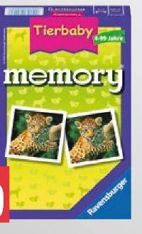 Mitbringspiel Tierbaby Memory von Ravensburger