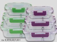 Glas-Lunchboxset von Ernesto