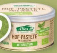 Bio Hof-Pastete Kräuter von Allos