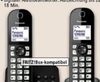 Schnurlos-DECT-Telefon KX-TGC462 Duo von Panasonic