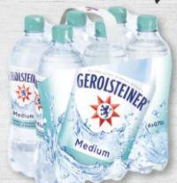 Mineralwasser von Gerolsteiner