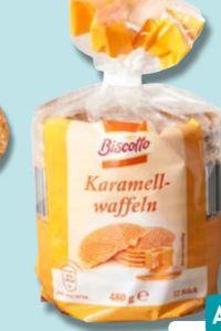 Karamellwaffeln von Biscotto