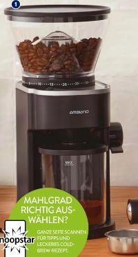 Kaffeemühle von Ambiano